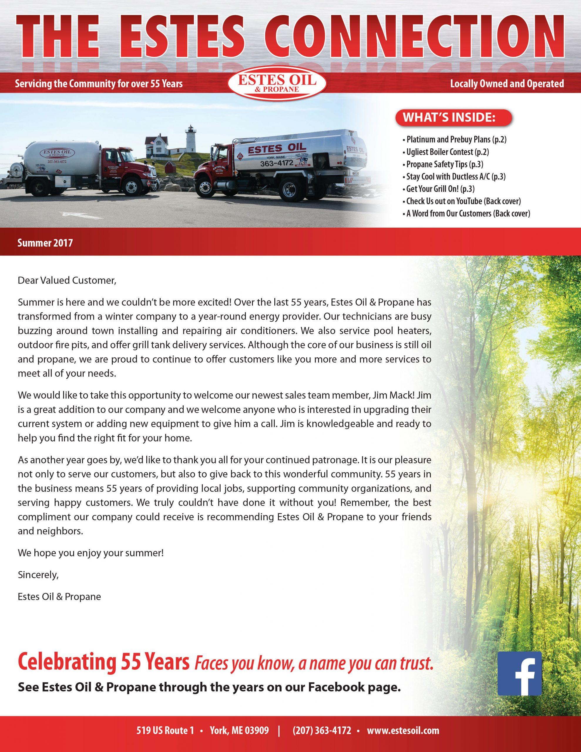 Estes Newsletter