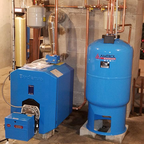 heating equipment installations
