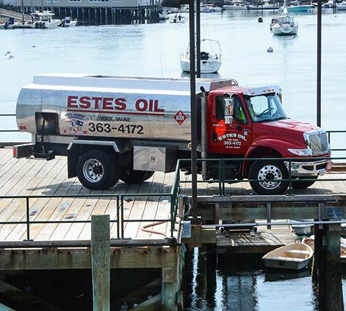 Estes Oil Delivery Truck in York, ME