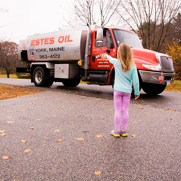 Estes Heating Oil Delivery Truck in Southern NH and ME